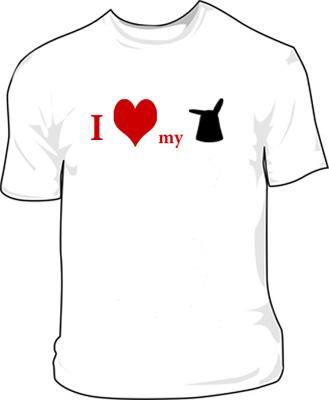 signe de geekitude...le nab's tee-shirt... Lovenab